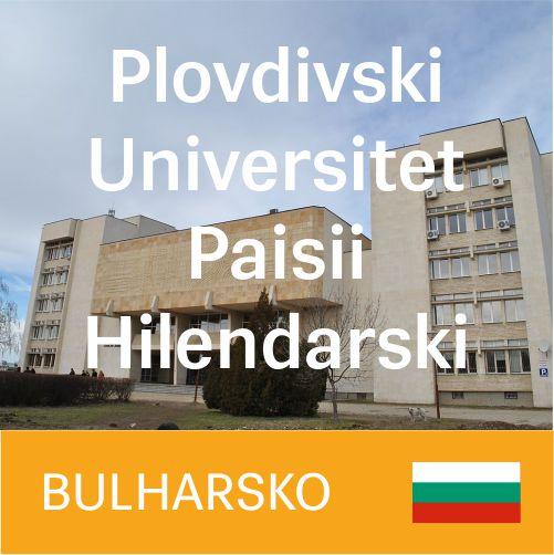 Plovdivski Universitet Paisii Hilendarski