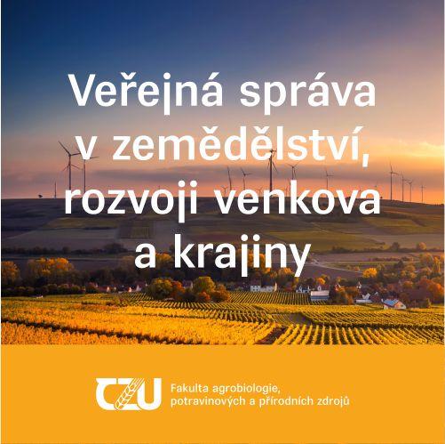 Veřejná správa v zemědělství, rozvoji venkova a krajiny